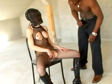 Stunning redhead mom is getting black dick