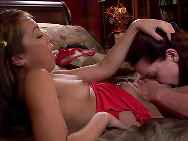 Magdalene St Michaels fucks with brunette Jesse