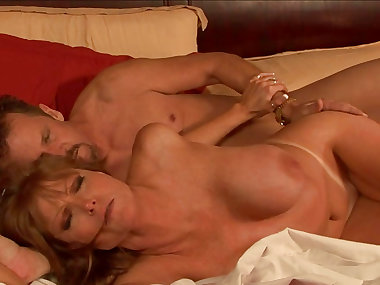 Blonde milf Darla Crane and big hard dick