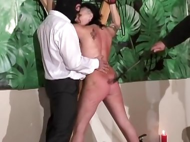 MILF is getting hardcore spanked on the cam