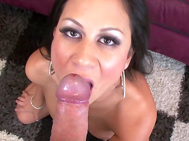 Big-tit brunette Kayme Kai is getting fucked in..