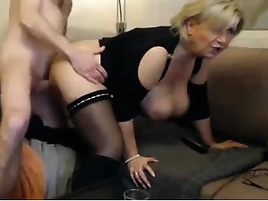 Dad and mom cam show