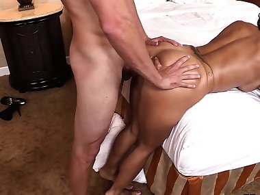 Latina mom getting pounded from behind asscamzdotcom