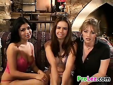 Young Girls In A Threesome With A Mom