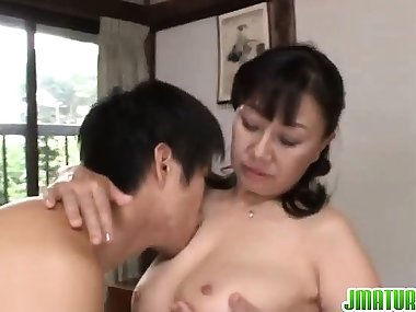 Big tits mom enjoys hardcore