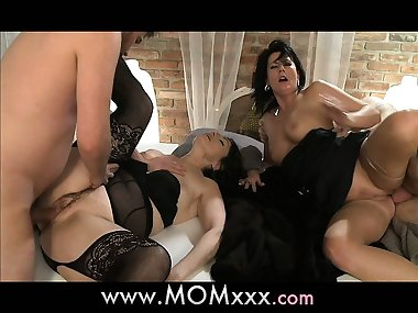 MOM Brunette MILF's having a good time