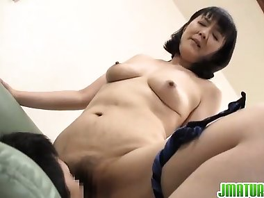 Dirty mom enjoys younger dick