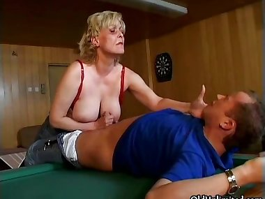 Nasty horny old mom with big part5