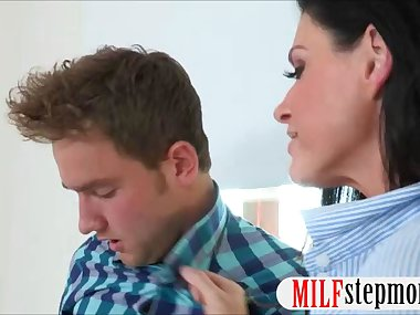 Stunning milf India Summer shared cock with Eva..