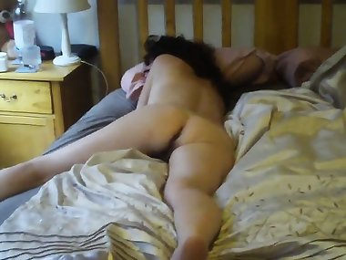 Resting step-mom butt that was bare exposed