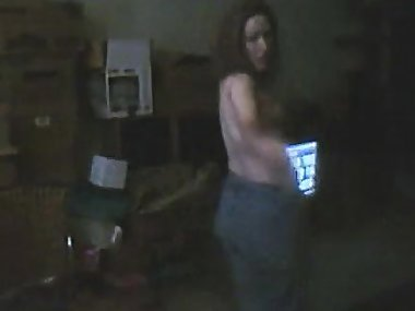 Mom begins she's great and a strip display on cam