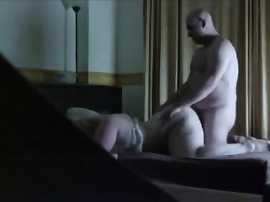 steaming sex my BBW mom on hidden camera