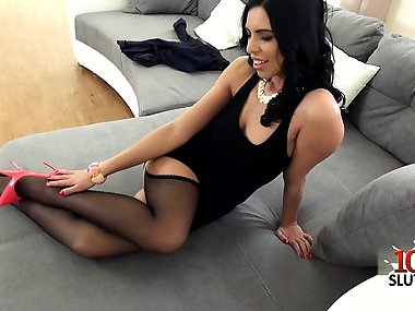 Italian mom analfuck