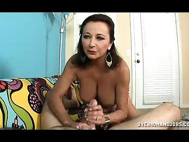 Hot Mom Milks Young Guy