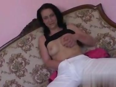 her wet pussy is so juicy as it gets fucked