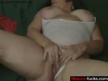 she is all alone and she is masturbating real hard
