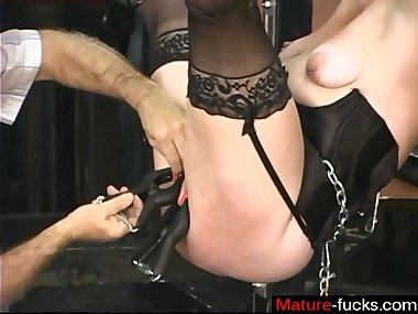 bondage fucking and the mature lady loves the..