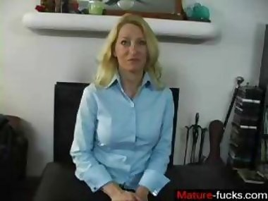 blonde bitch has a nice time as shes spanked