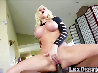 Blonde Milf Alena Croft is on Lexington Steeles list of moms to fuck