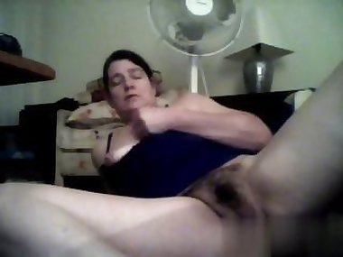 she has a nasty ass time as she masturbates