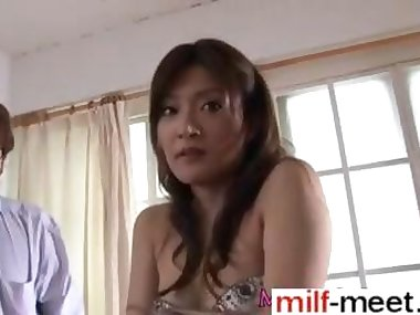 Asian hottie with little tits rubbing her hot pussy solo
