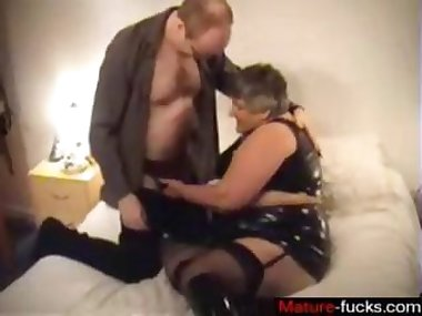 she is a mature slut getting fucked real good