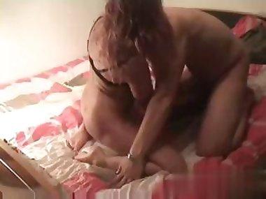 some amateur footage of a wife getting fucked real good