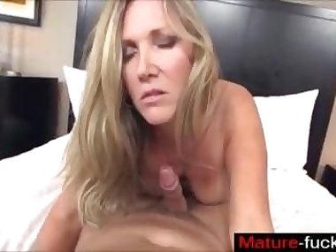 blonde slut and a dick have a special bond