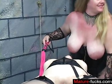 busty bdsm domina is down for some fetish stuff