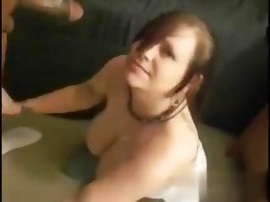 Huge black cock for a nasty plump girl