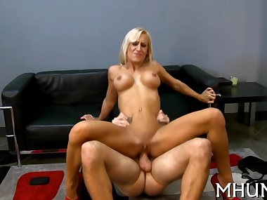 milf cant stop cumming from sex segment