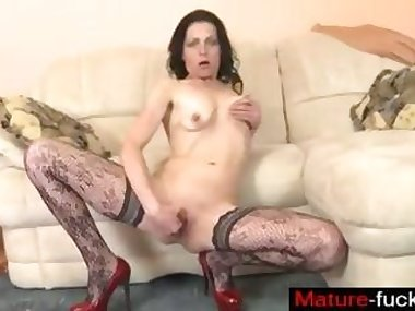 Find her on MATURE-FUCKS.COM - Mature want to..
