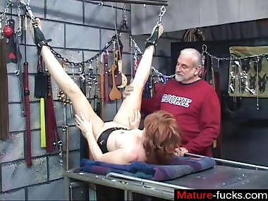 his wife is down for some nasty bdsm sessions