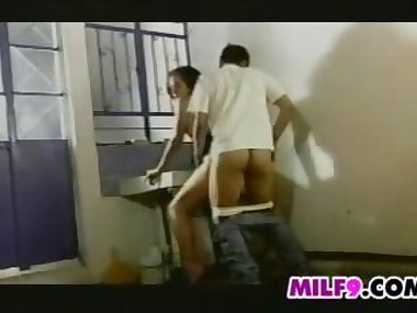 MILF And Her Secret Lover Having Sex