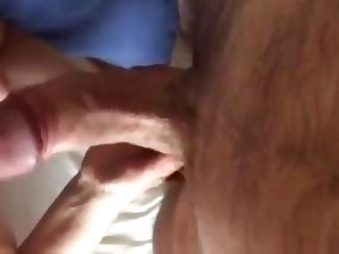 close up view of a dick getting sucked off hard