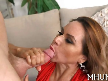 Milf gets seduced and fucked
