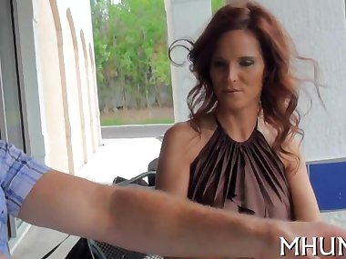 redhead milf sucking and fucking like a true champion